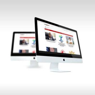 Création site web d'information Niger