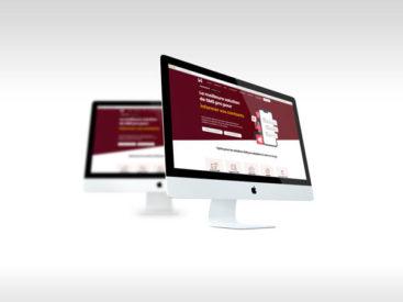 Site web pour présenter une plateforme web